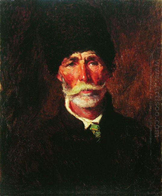Portrait Of E Gilechenko
