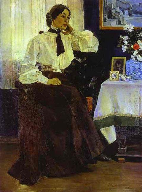Portrait Of Ekaterina Nesterova 1905
