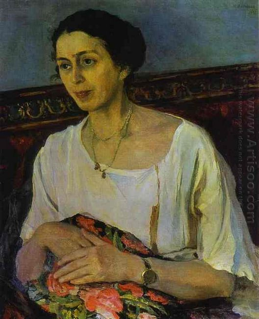 Portrait Of Elena Rasumova 1936