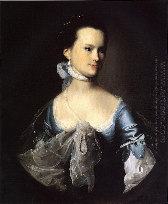 Portrait Of Elizabeth Deering Wentworth Gould Rogers Also Known