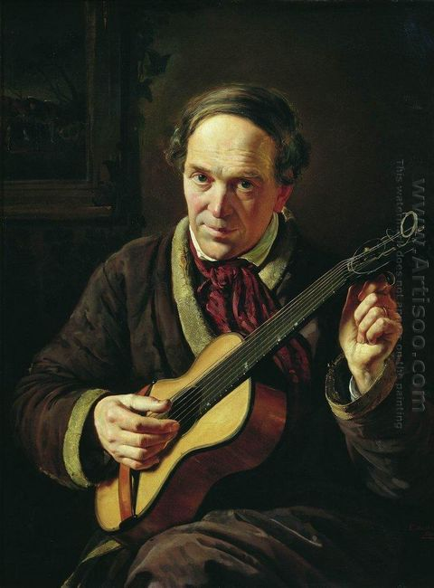 Portrait Of E Makovsky Artist S Father