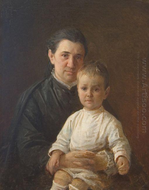 Portrait Of Evdokiya Nikolaevna Kostycheva
