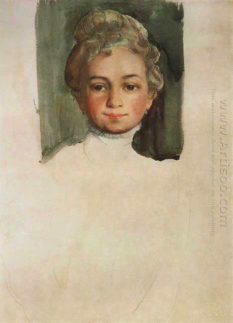 Portrait Of E Vladimirskaya