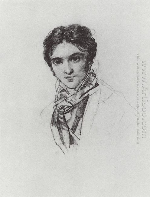 Portrait Of F A Bruni 1828