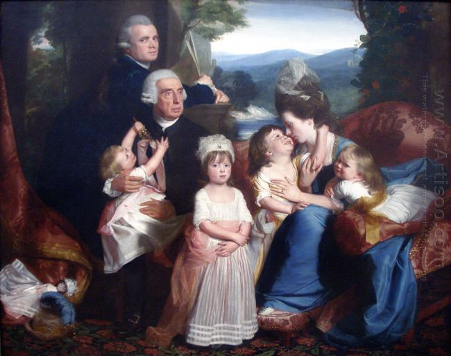 Portrait Of Familie Copley 1776