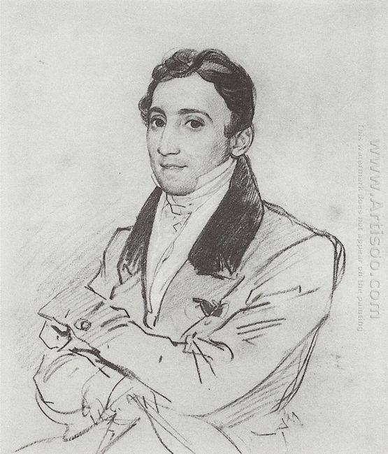 Portrait Of F D Gverazzi 1830