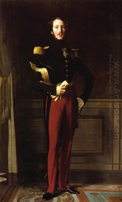 Portrait Of Ferdinand Philippe Duke Of Orleans