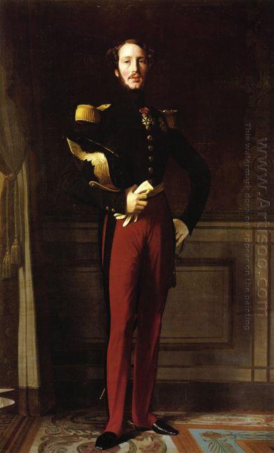 Portrait Of Ferdinand Philippe Duke Of Orleans