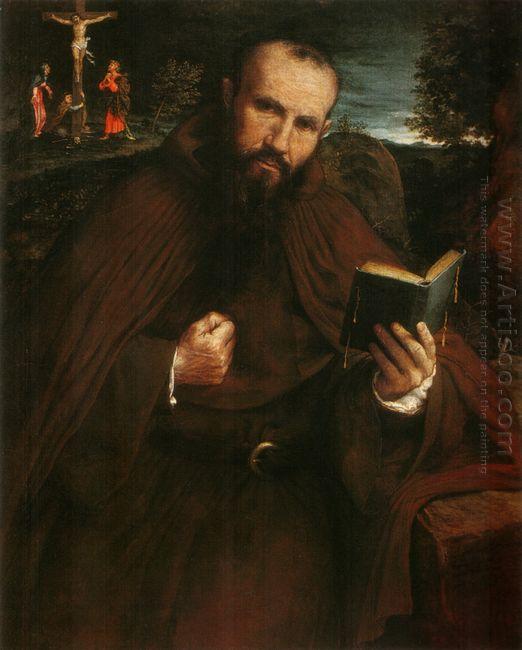 Portrait Of Fra Gregorio Belo Di Vicenza 1548