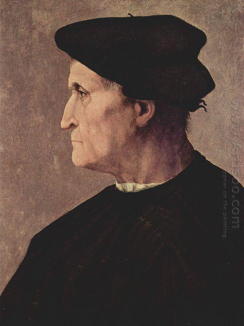 Portrait Of Francesco Da Castiglione 1520