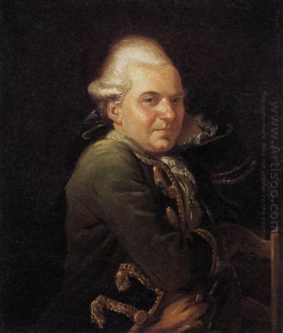 Portrait Of Francois Buron 1769