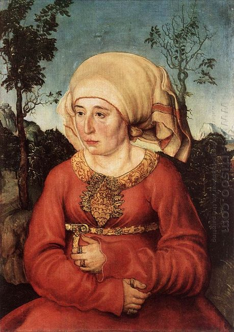 Portrait Of Frau Reuss 1514