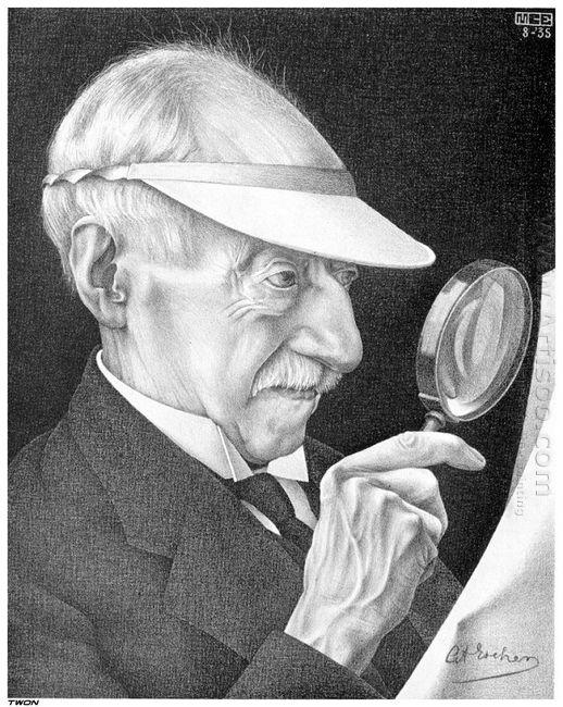Portrait Of G A Escher