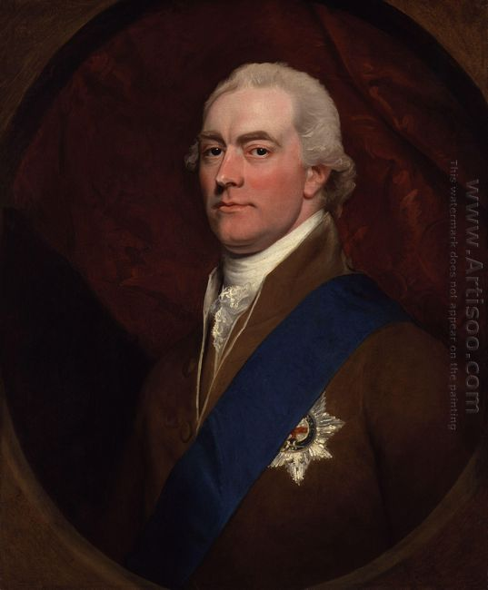 Portrait Of George John Spencer 2Nd Earl Spencer