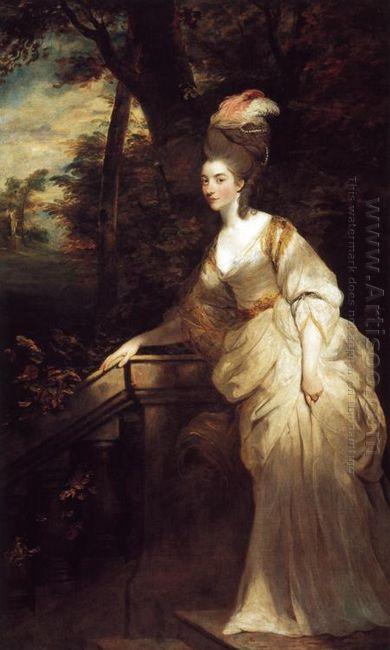 Portrait Of Georgiana Duchess Of Devonshire 1776