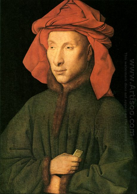 Portrait Of Giovanni Arnolfini 1435