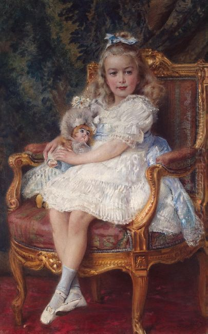 Portrait Of Grand Princess Maria Nikolayevna