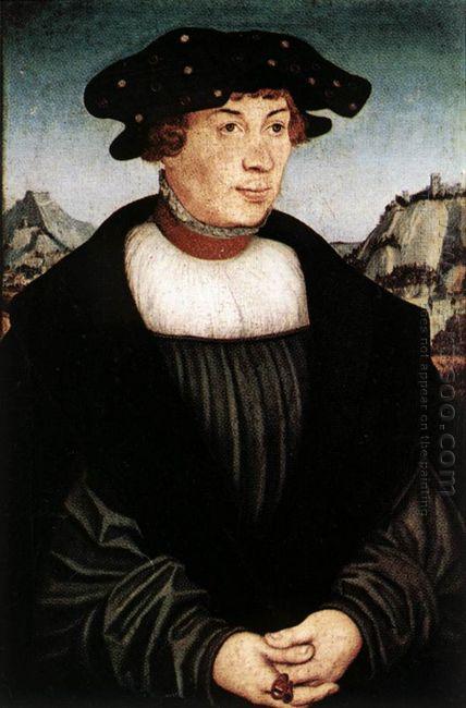 Portrait Of Hans Melber 1526