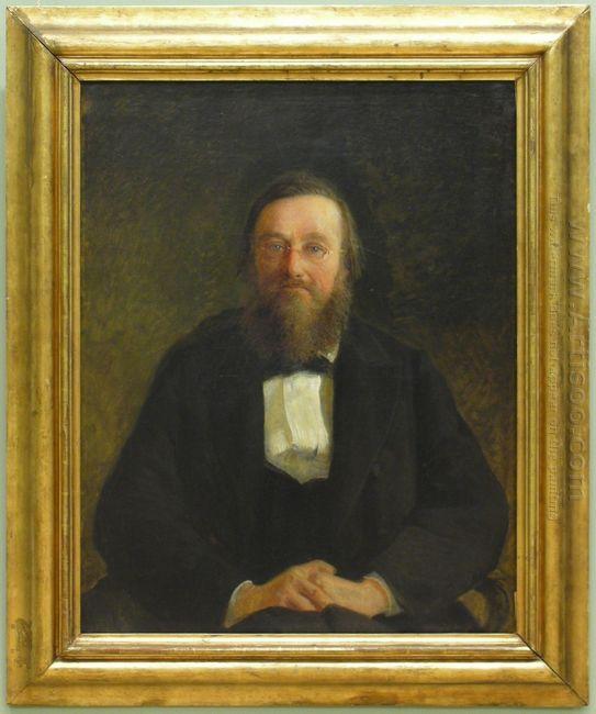 Portrait Of Historian M Kostomarov