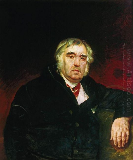 Portrait Of I A Krylov