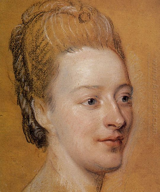 Portrait Of Isabelle De Charriere 1766