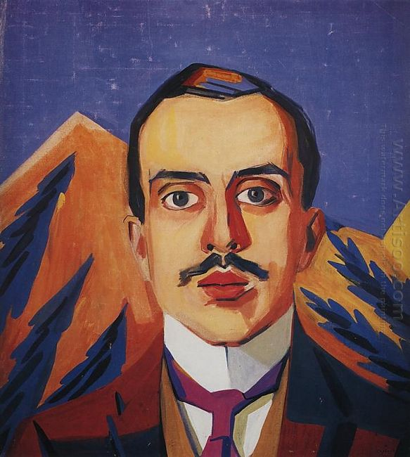 Portrait Of I Shchukin 1911