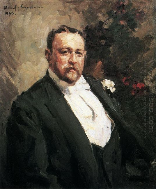 Portrait Of Ivan Morosov 1903
