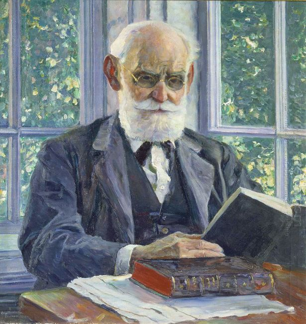 Portrait Of Ivan Pavlov 1930
