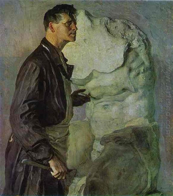 Portrait Of Ivan Shadr 1934