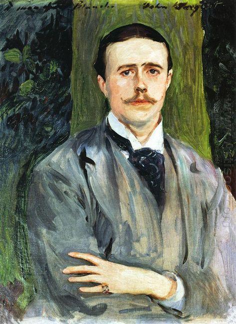 Portrait Of Jacques Emile Blanche