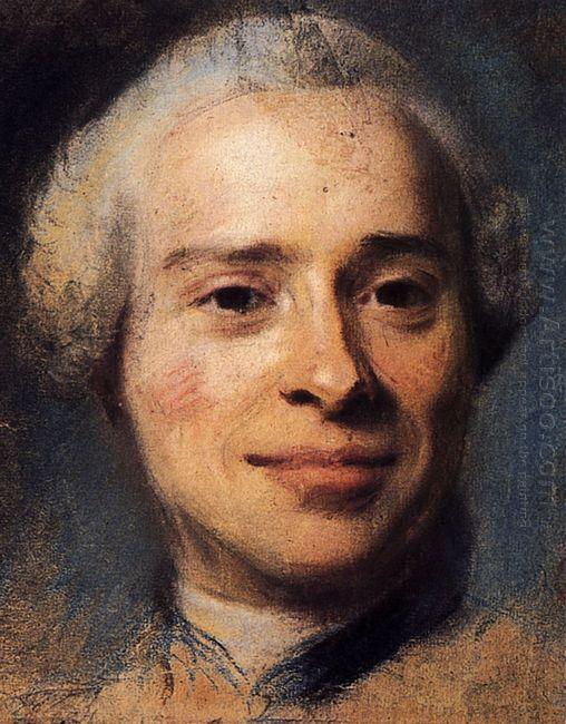 Portrait Of Jean Le Rond D Alembert 1753