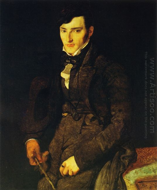 Portrait Of Jean Pierre Francois Gilibert 1805