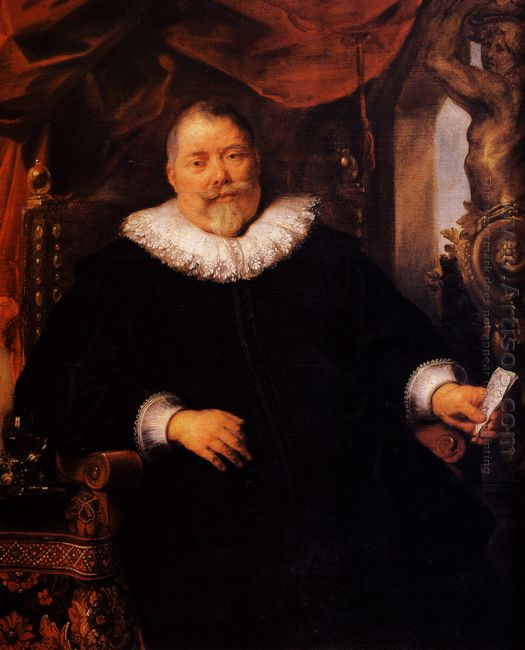 Portrait Of Johan Wierts 1635