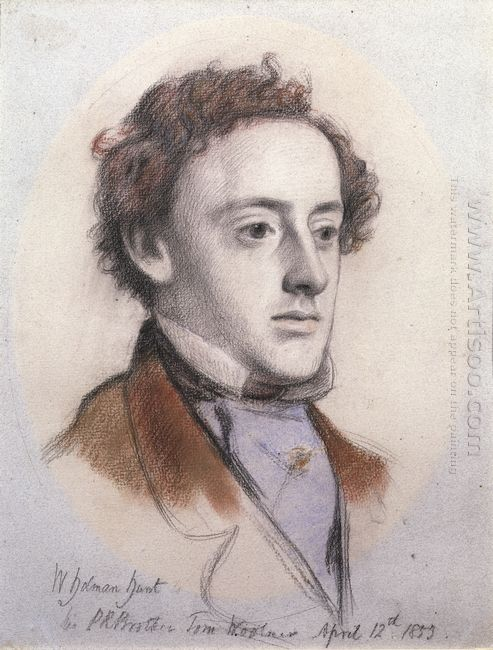Portrait Of John Everett Millais
