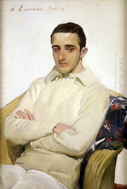 Portrait Of José Luis López De Arana Benlliure