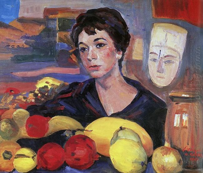 Portrait Of Katarine Saryan 1963