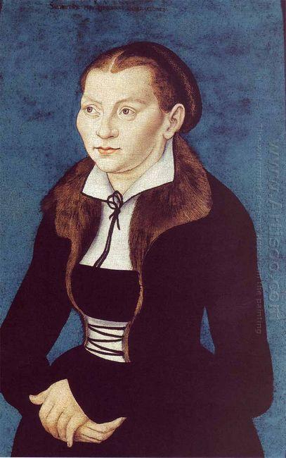 Portrait Of Katharina Von Bora 1529