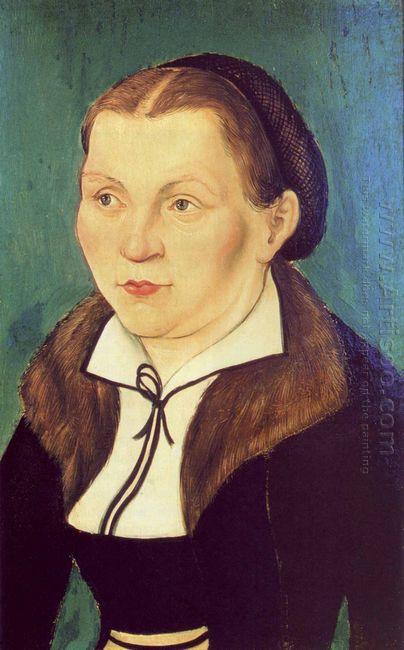 Portrait Of Katharina Von Bora 1