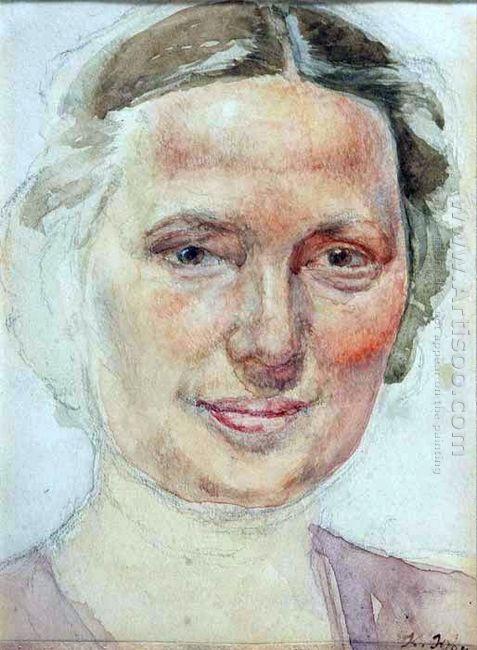 Portrait Of K A Yuon Artist S Wife