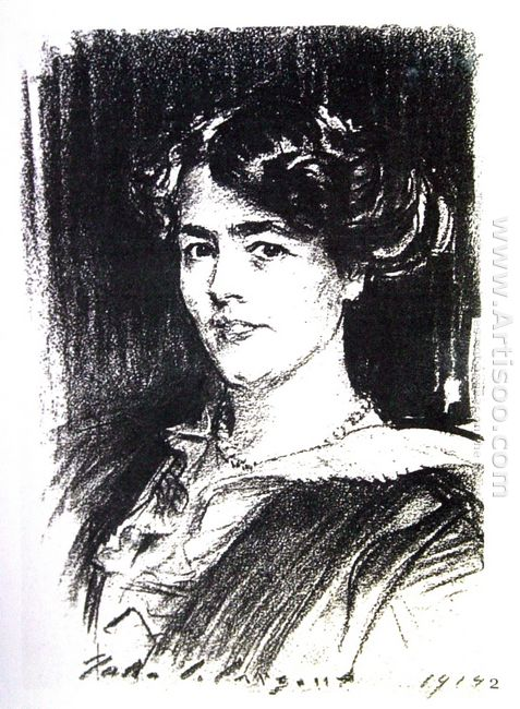 Portrait Of Lady Michaelis 1925
