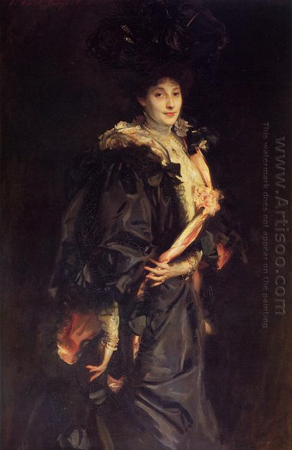 Portrait Of Lady Sassoon 1907