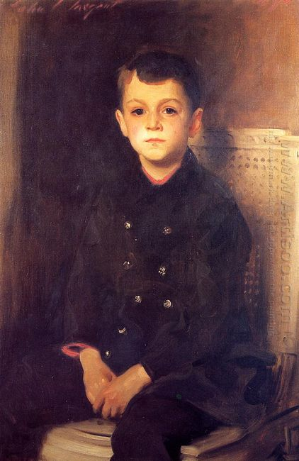 Portrait Of Lancelot Allen 1894