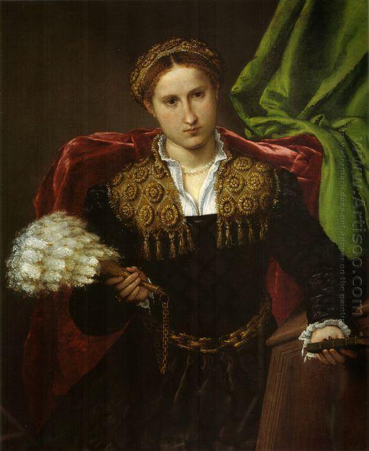 Portrait Of Laura Da Pola Wife Of Febo Da Brescia