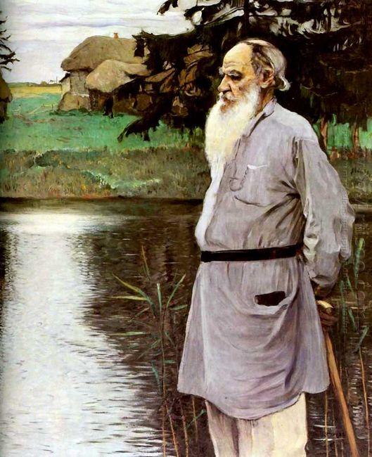 Portrait Of Leo Tolstoy 1907