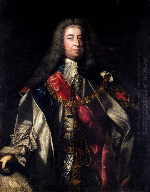 Portrait Of Lionel Sackville 1St Duke Of Dorset