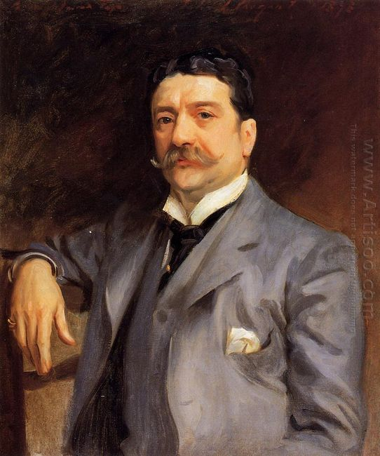 Portrait Of Louis Alexander Fagan 1893