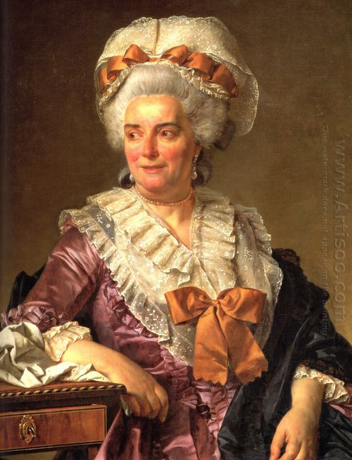 Portrait Of Madame Charles Pierre Pecoul Nee Potain Mother In La
