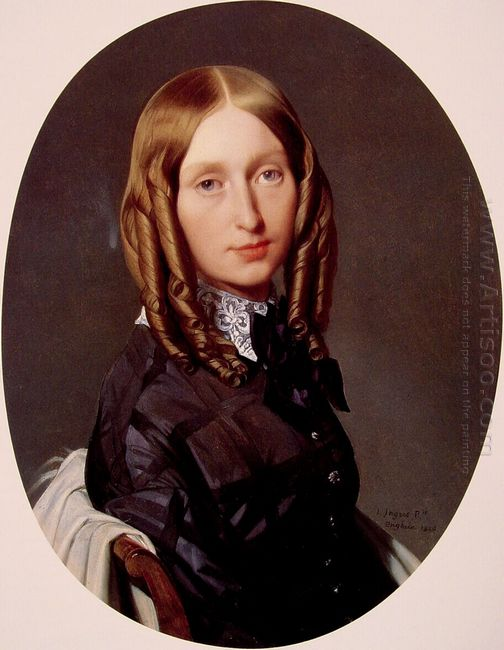 Portrait Of Madame Frederic Reiset 1847