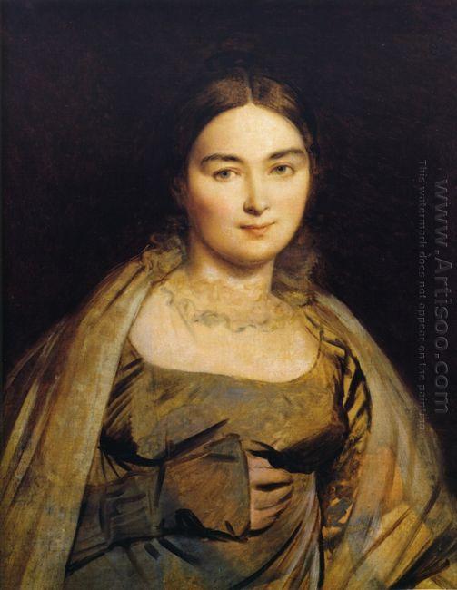 Portrait Of Madame Ingres