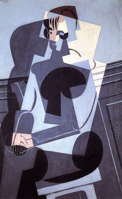 Portrait Of Madame Josette Gris 1916